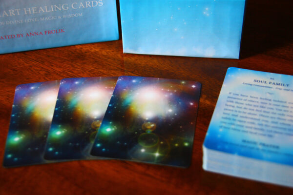 Magical Heart Healing Cards (by Anna Frolik)