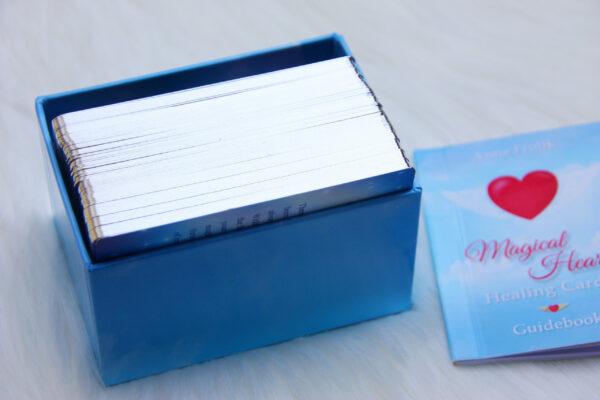 Magical Heart Healing Cards (Silver Edges)