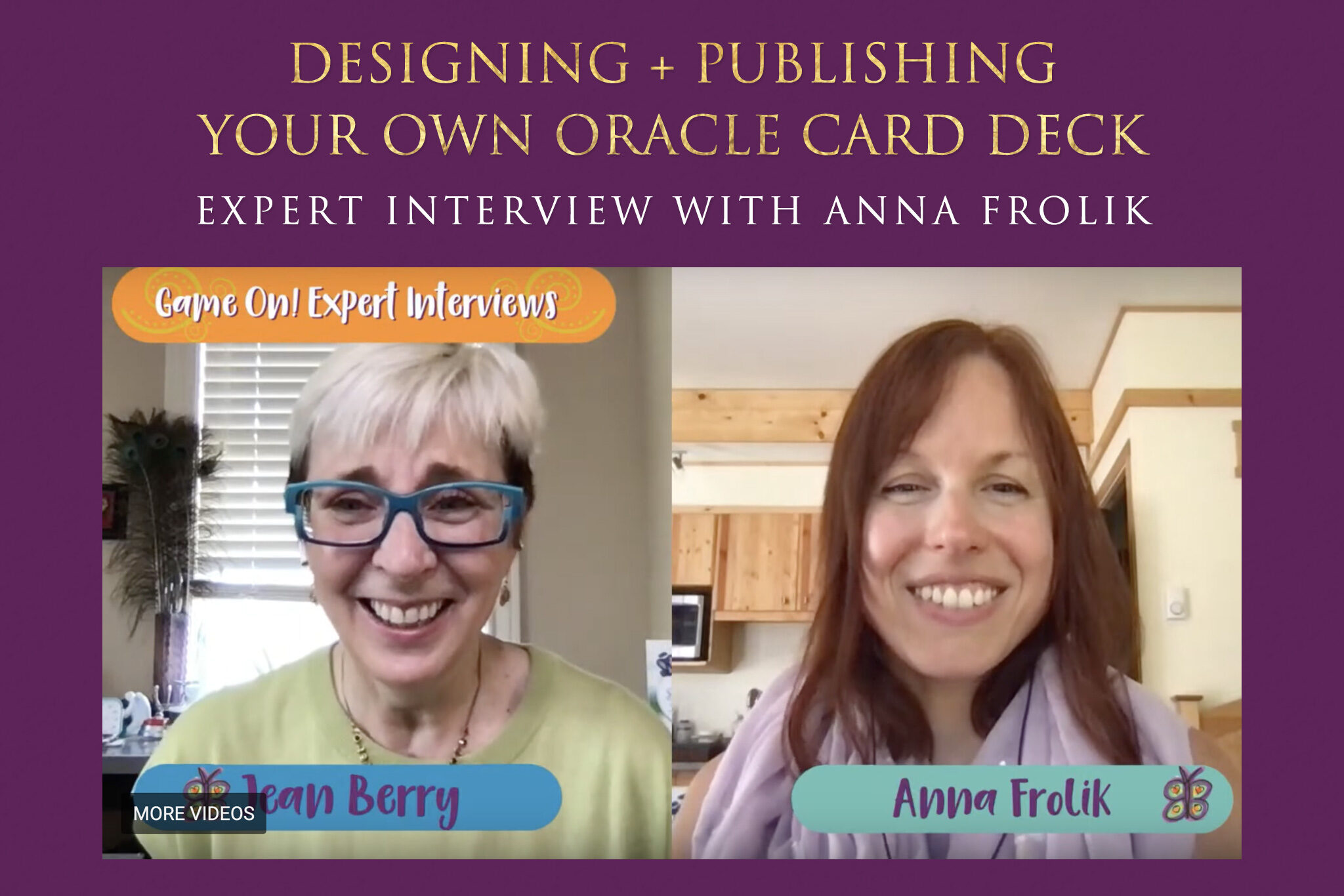 Designing + Publishing Your Own Oracle Card Deck (Expert Interview with Anna Frolik + Jean Berry)