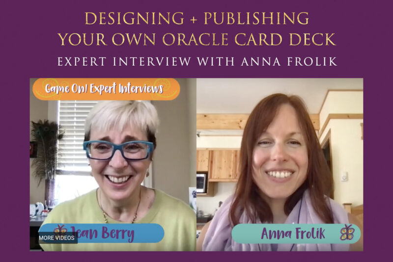 Designing + Publishing Your Own Oracle Card Deck (Expert Interview with Anna Frolik)