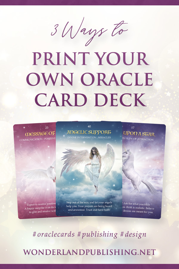 3 Ways to Print Your Own Oracle Card Deck